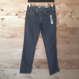 Mossimo Mid Rise Straight Leg Jeans